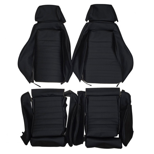 Recaro Is Ls Sport Custom Real Leather Seat Covers Front