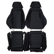 Recaro IS LS Sport Custom Real Leather Seat Covers (Front)