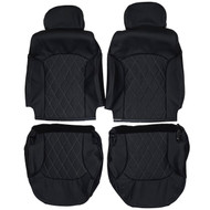 1998-2005 Chevrolet S10 Blazer Custom Real Leather Seat Covers (Front)