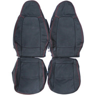 2007-2014 Smart Fortwo Custom Real Leather Seat Covers (Front)