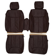 2006-2011 Cadillac DTS Custom Real Leather Seat Covers (Front)