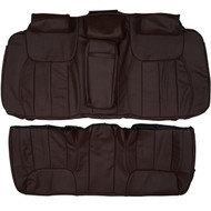 2006-2011 Cadillac DTS Custom Real Leather Seat Covers (Rear)
