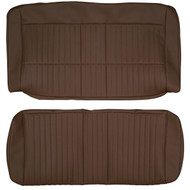 1960-1980 Saab 96 Custom Real Leather Seat Covers (Rear)
