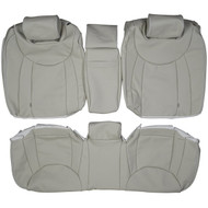 2001-2006 Lexus LS430 Custom Real Leather Seat Covers (Rear)