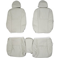 2007-2012 Lexus LS460 Custom Real Leather Seat Covers (Front)