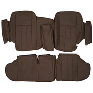 1990-1995 Range Rover Classic LWB Custom Real Leather Seat Covers (Rear)