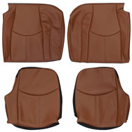 2005-2012 Porsche 911 Carrera 997 Custom Real Leather Seat Covers (Rear)