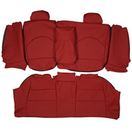 1998-2004 BMW E46 M3 Sport Custom Real Leather Seat Covers (Rear)