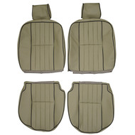1980-1985 Jaguar XJ XJ6 Custom Real Leather Seat Covers (Front)