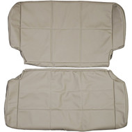 1997-2002 JEEP Wrangler TJ Custom Real Leather Seat Covers (Rear)