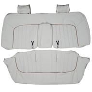 1995-1997 Jaguar Vanden Plas Custom Real Leather Seat Covers (Rear)