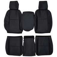 2007-2014 Chevy Silverado LS LT Z71 Custom Real Leather Seat Covers (Front)