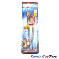Marvel Iron Man Stainless Steel Training Chopsticks Step 2