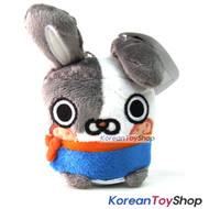 Canimals TOKI Model Key Ring Doll Plush Toy 3""