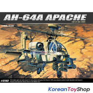 Academy 12262 1/48 Plastic Model AH-64A MSIP APACHE Helicopter / Made in Korea