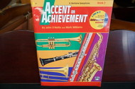 Alfred's Accent on Achievement E Flat Baritone Saxophone Book 2 (w/ CD)
