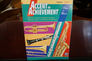 Alfred's Accent on Achievement Trombone Book 3
