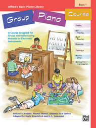 Alfred's Basic Piano Library Group Piano Course Book 1