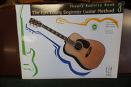 Young Beginner Guitar Method Theory Activity Book 3
