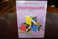 Bastien Piano Basics Performance Level 1