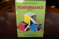 Bastien Piano Basics Performance Level 3
