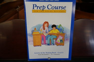Alfred's Basic Piano Library Prep Course Activity & Ear Training Book Level E