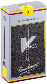 Vandoren V.12 Bb Clarinet Reeds, Strength 3, 10 Pack