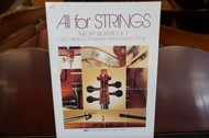 All for Strings Theory Workbook 1 Cello