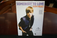 Somebody To Love by Justin Bieber Piano/Vocal/Guitar