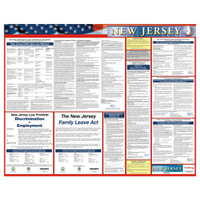 New Jersey State Only Poster