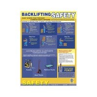Safe Back Lifting Poster