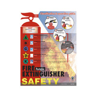 Portable Fire Extinguisher Poster