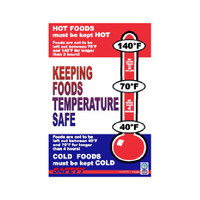 Keeping Temperature Safe Poster