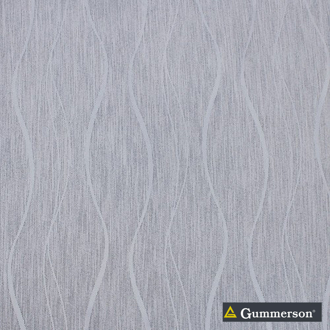 Gummerson - Freshwater-Softweave Mist Room Darkening 280cm  | Curtain Lining Fabric - Fire Retardant, Grey, Contemporary, Pattern, Stripe, Synthetic, Transitional, Washable