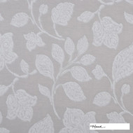 HOAD_SR-10810 'Snowball' | Curtain & Upholstery fabric - Beige, White, Craftsman, Fiber blend, Floral, Garden, Pattern, Uncoated, Washable, White, Domestic Use