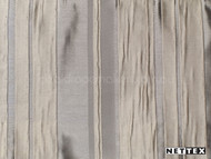 Taupe' | Curtain Fabric - Deco, Decorative, Pattern, Stripe, Synthetic fibre, Traditional, Transitional, Tan - Taupe, Domestic Use, Plisse