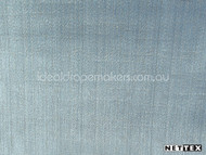 Chambray' | Curtain Fabric - Blue, Plain, Synthetic fibre, Domestic Use