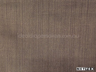 Nettex Dalton Mocca (MG5)  | Curtain Fabric - Brown, Plain, Synthetic, Domestic Use