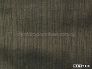 Raven' | Curtain Fabric - Green, Plain, Synthetic fibre, Domestic Use
