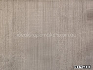 Mink' | Curtain Fabric - Plain, Stripe, Synthetic fibre, Traditional, Tan - Taupe, Domestic Use