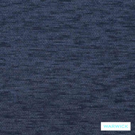 Warwick Ardo Denim  | Upholstery Fabric - Blue, Plain, Synthetic, Washable, Domestic Use, Halo
