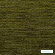 Warwick Ardo Leaf  | Upholstery Fabric - Green, Plain, Synthetic, Washable, Domestic Use, Halo