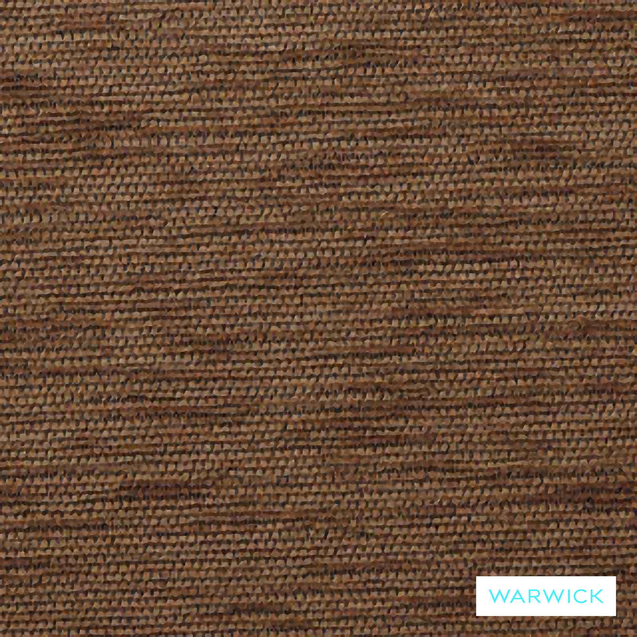 Warwick Ardo Sable  | Upholstery Fabric - Brown, Plain, Synthetic, Washable, Domestic Use, Halo