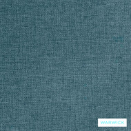 Warwick Astral Globe Cascade  | Upholstery Fabric - Blue, Plain, Synthetic, Washable, Commercial Use, Halo