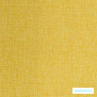 Warwick Astral Globe Sunshine  | Upholstery Fabric - Gold,  Yellow, Plain, Synthetic, Washable, Commercial Use, Halo
