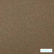 Warwick Augustus Earth  | Curtain & Upholstery fabric - Brown, Plain, Fibre Blends, Washable, Commercial Use, Standard Width