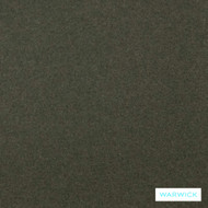 Warwick Augustus Olive  | Curtain & Upholstery fabric - Green, Plain, Fiber blend, Washable, Commercial Use