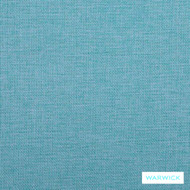 Warwick Beachcomber Aqua  | Upholstery Fabric - Blue, Plain, Beach, Synthetic, Washable, Commercial Use, Halo, Standard Width