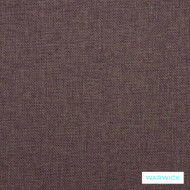Warwick Beachcomber Fudge  | Upholstery Fabric - Plain, Beach, Pink, Purple, Synthetic, Washable, Commercial Use, Halo