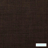 Warwick Cargo Walnut  | Upholstery Fabric - Brown, Plain, Synthetic, Washable, Commercial Use, Domestic Use, Halo, Standard Width